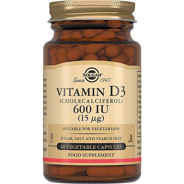 Солгар Витамин Д3 600 МЕ капсулы 60 шт.