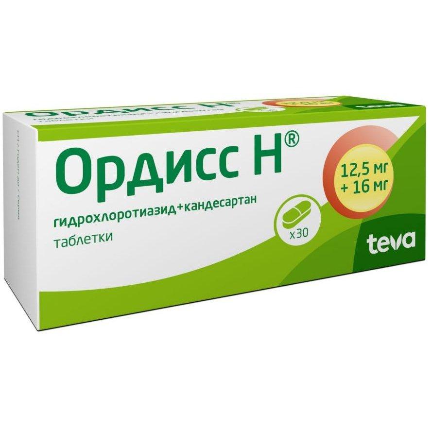 Ордиес таблетки от давления